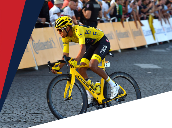 Egan Bernal ciclistas latinoamericanos