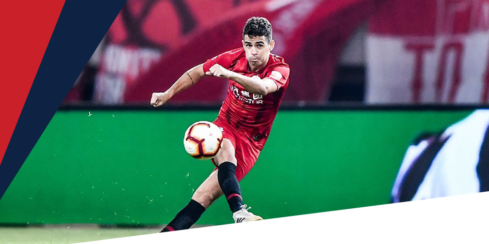 Oscar es uno de los mejores pagados en la liga china