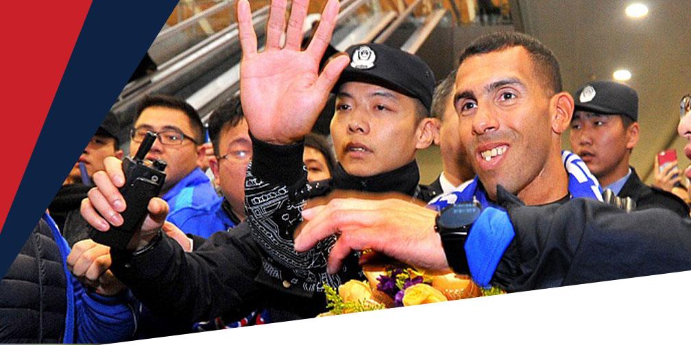 Tevez se convirtió en el mejor pagado en China